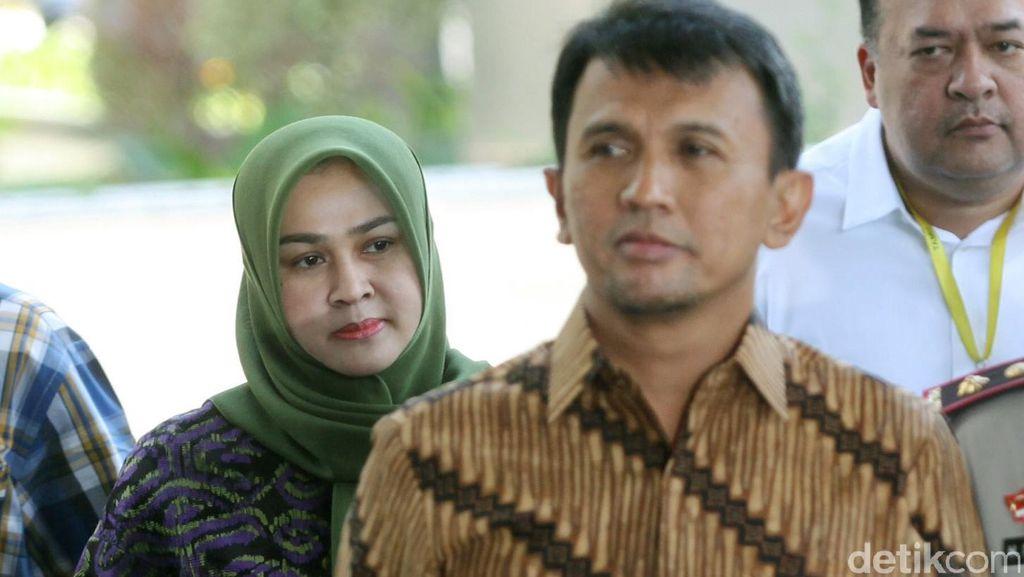 Razman Akan Ajukan Penangguhan Penahanan untuk Gubernur Gatot dan Evy