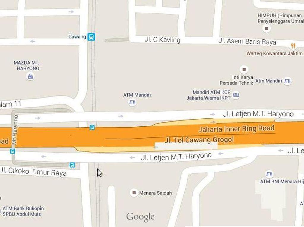Pengumuman! Terowongan Cikoko Depan St Cawang akan Diberlakukan Satu Arah