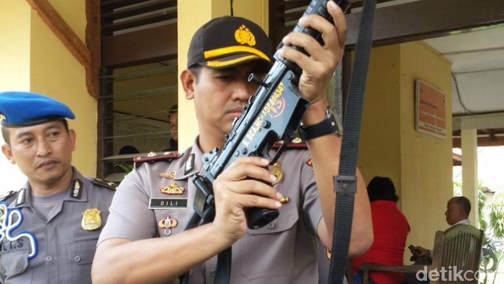 5 Senpi Polisi di Semarang Ditarik karena Izinnya Kedaluwarsa