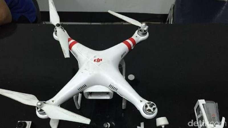 OX Pemilik Drone yang Jatuh di Menara BCA Kembali Diperiksa Polisi