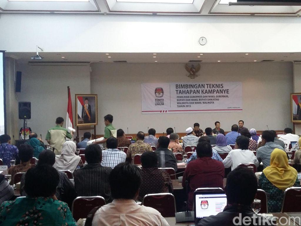 Sosialisasi Pemantapan Pilkada, KPU Kumpulkan 34 KPUD
