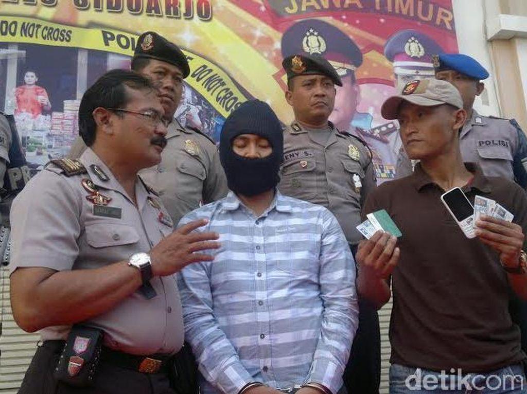 Pria ini Dibekuk Ajukan Laporan Palsu ke Polisi