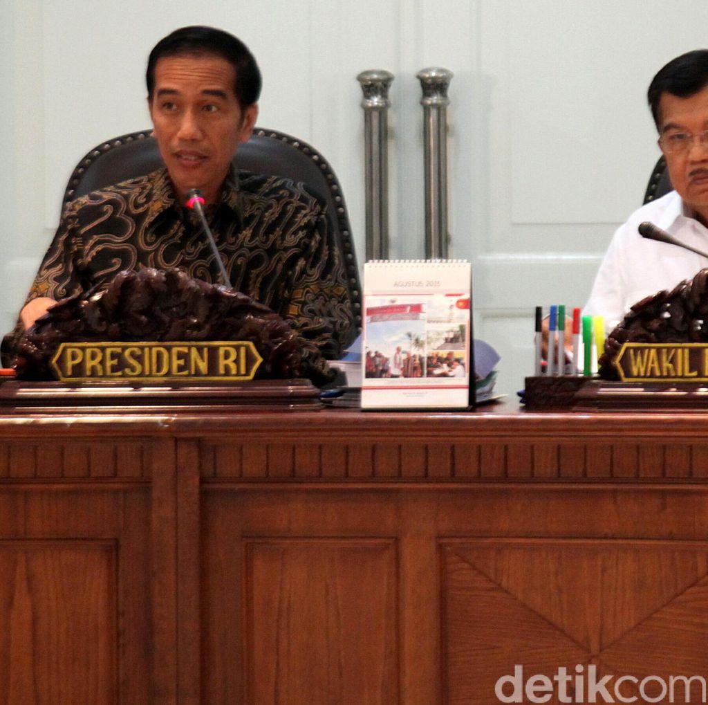 Jokowi dan Para Petinggi Negara Merapat ke Istana Bogor