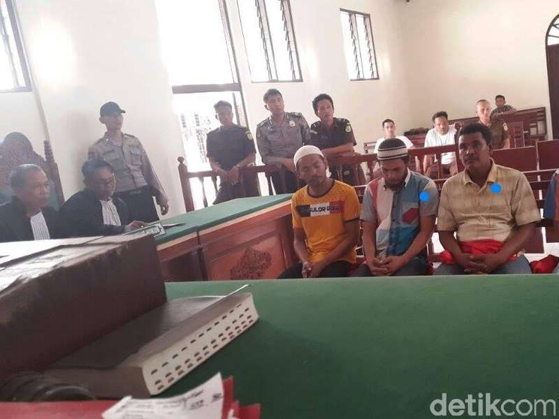 Empat Tuntutan Vonis Mati Bandar Ganja Kandas di Palu Hakim Tinggi Medan