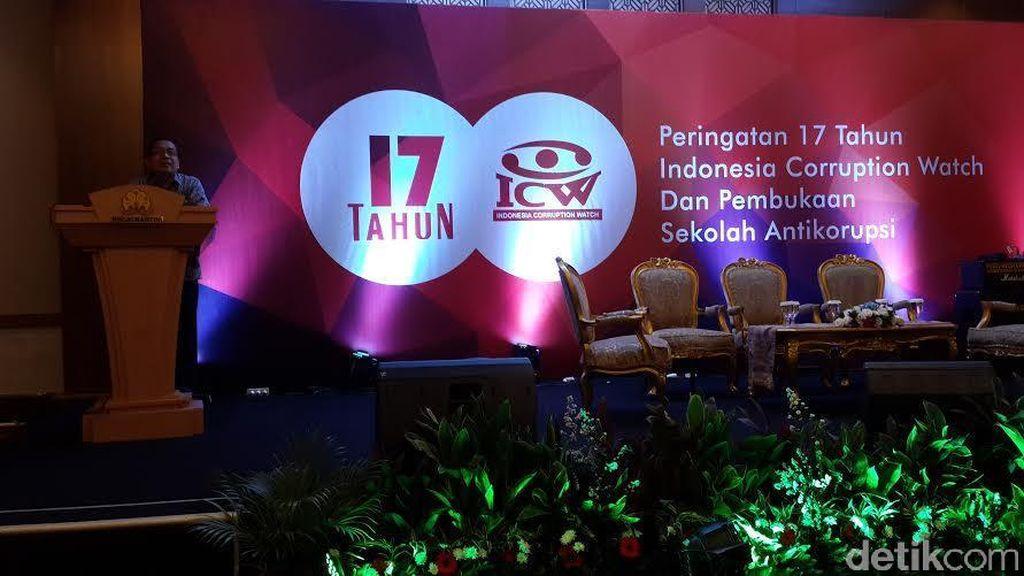 Dibuka Mensesneg Pratikno, ICW Luncurkan Sekolah Antikorupsi