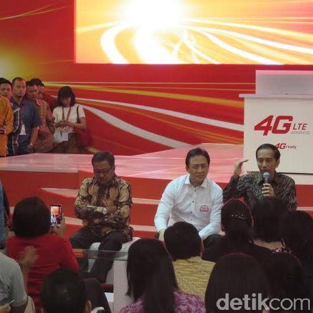 Sutradara, Musisi Hingga Tukang Ojek Curhat ke Presiden Jokowi