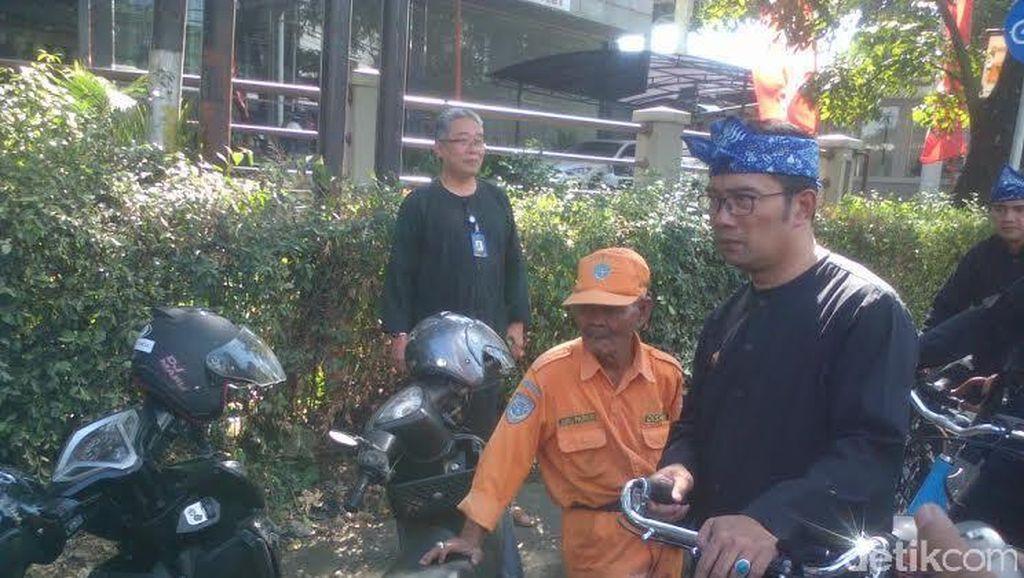Parkir Sembarangan, Mahasiswa Kena Semprot Ridwan Kamil