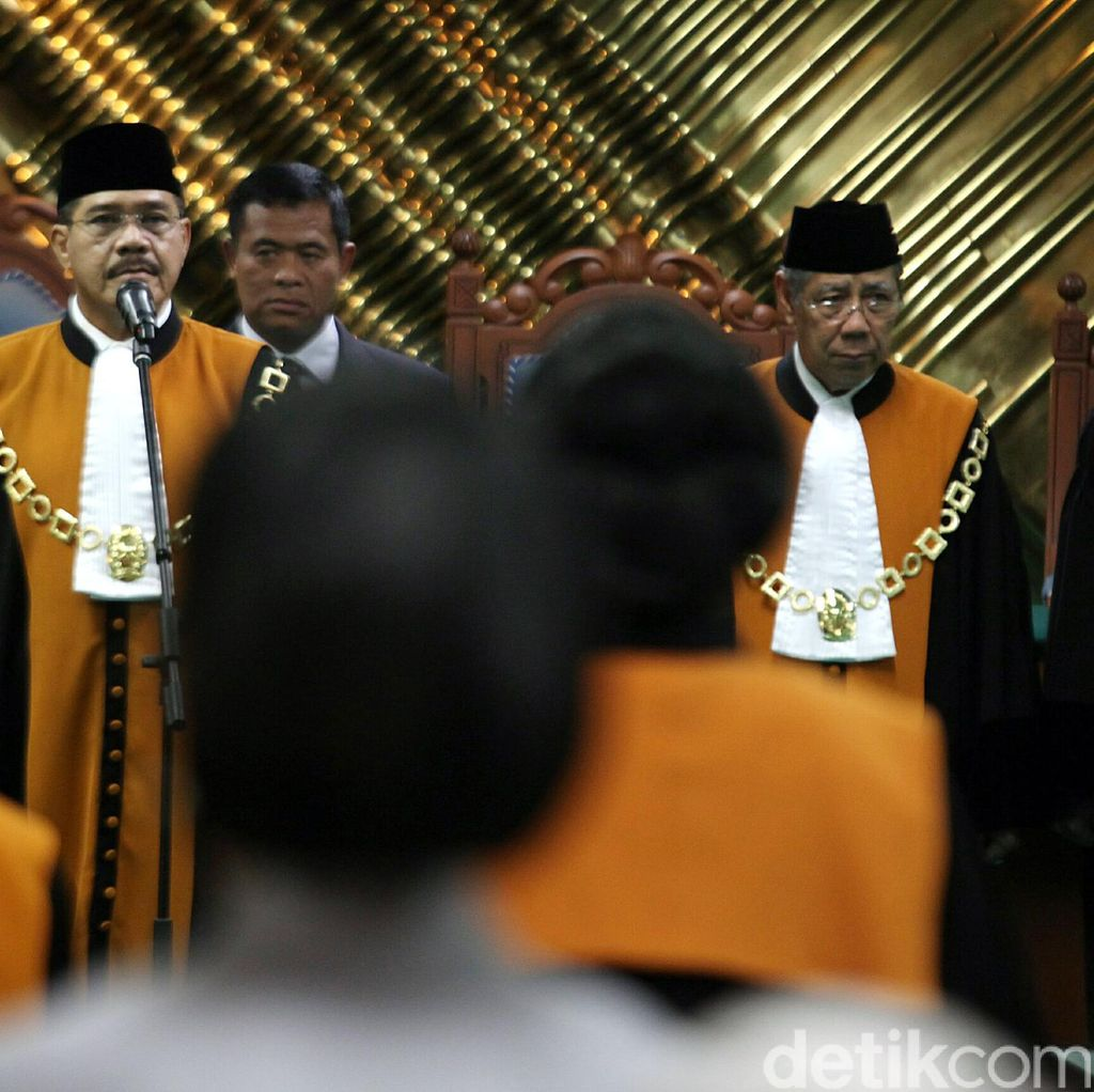 RUU JH, Masa Pensiun Hakim Agung Akan Diturunkan Jadi Usia 67 Tahun