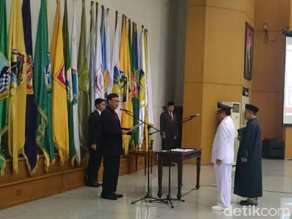Lantik Penjabat Gubernur Jambi, Mendagri Minta Cermati Area Rawan Korupsi