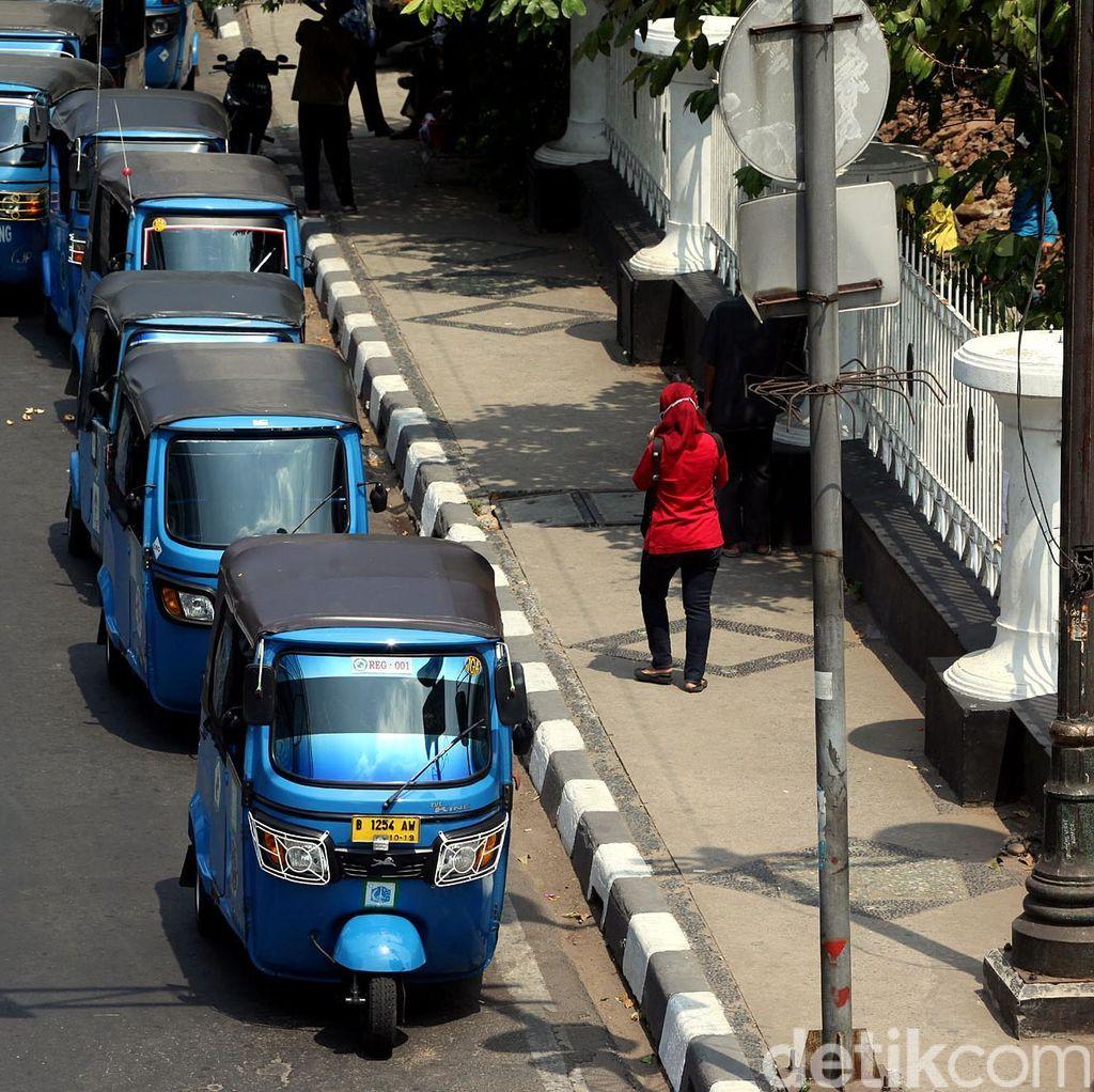 Organda Targetkan 17 Ribu Bajaj Gas Berbasis Aplikasi Online