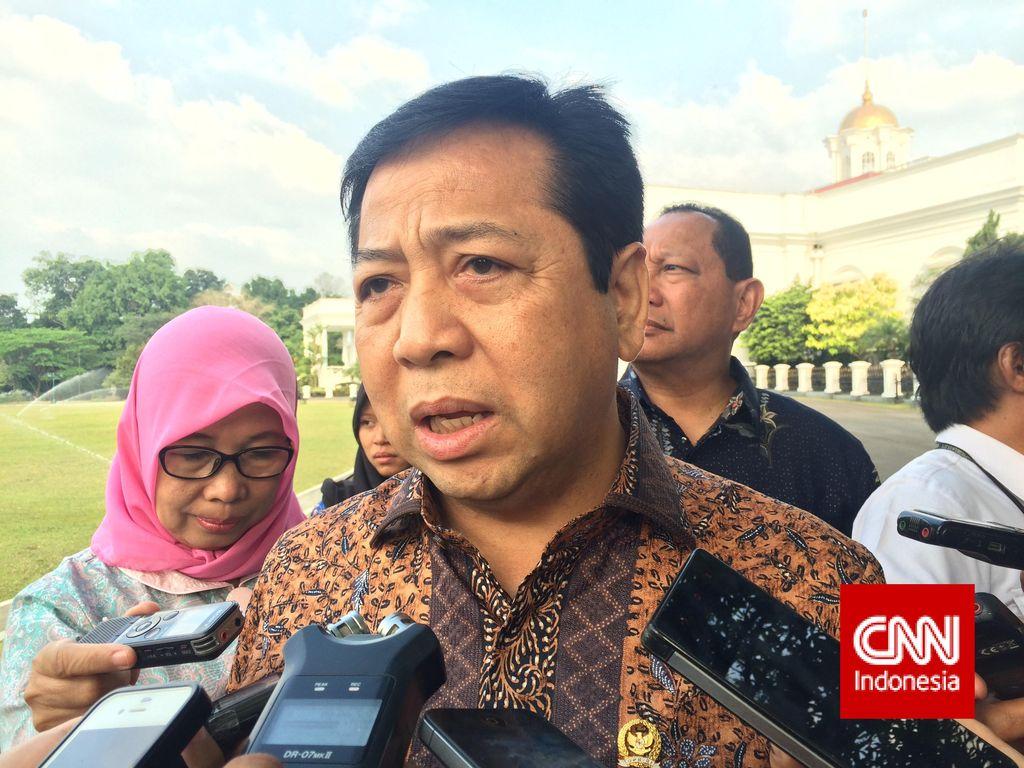 Novanto: Kinerja Legislasi DPR Rendah Juga Salah Pemerintah