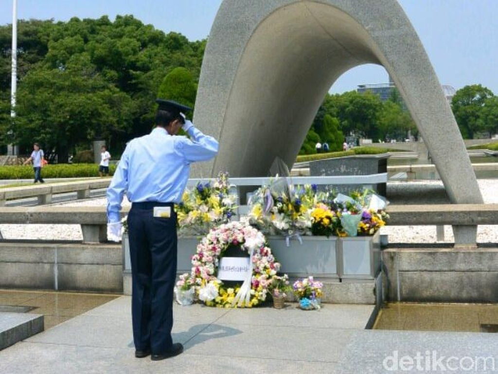 Agenda Peringatan 70 Tahun Bom Atom di Hiroshima Memorial Park