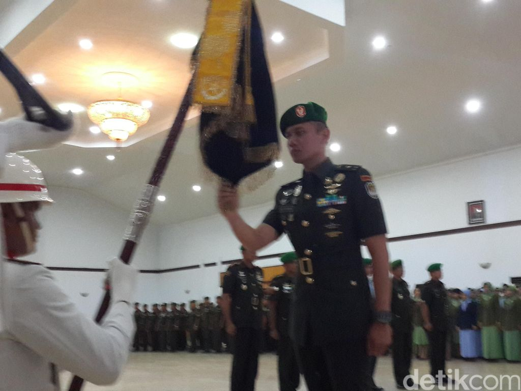 Agus Harimurti Yudhoyono Dipromosikan Jadi Danyonif Arya Kemuning Tangerang