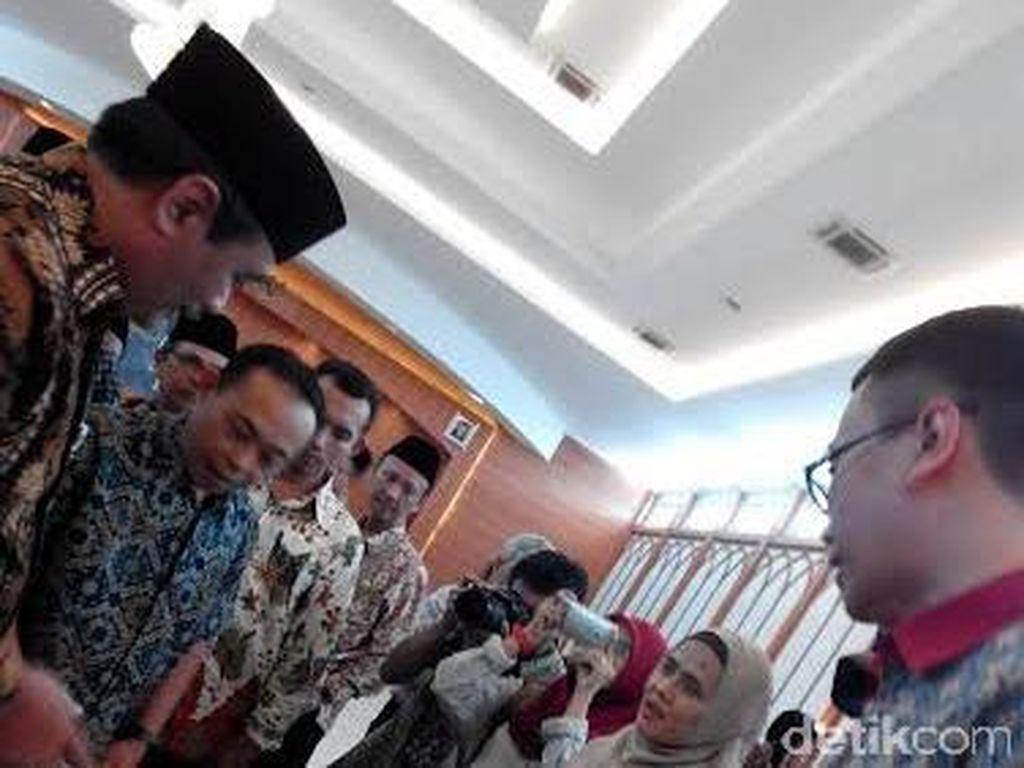 Cek Menu Makanan Pesawat Haji Embarkasi DKI, Wagub DKI: Its Good