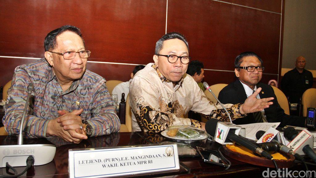 Zulkifli: Teks Proklamasi Dibaca Bergiliran Ketua MPR, DPR, dan DPD