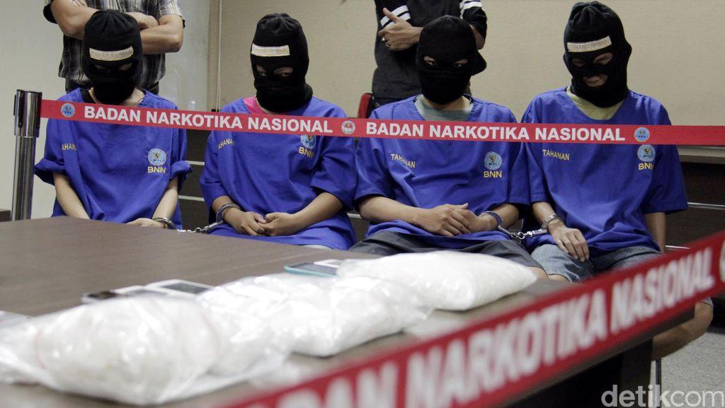 Tersangka Pencucian Uang Narkoba Diciduk di Bangka Belitung