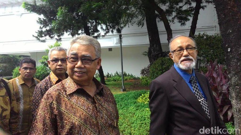 Temui Wapres JK, Gubernur Aceh Lapor Perkembangan Situasi Singkil