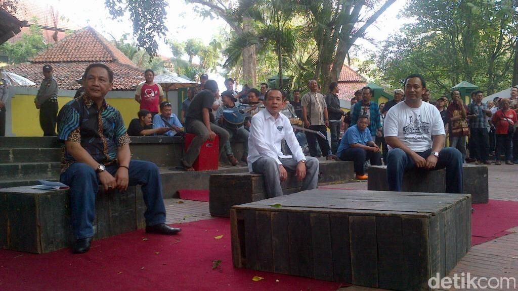Lukisan Gubernur Ganjar Dibeli 3 Calon Wali Kota Semarang Rp 135 Juta