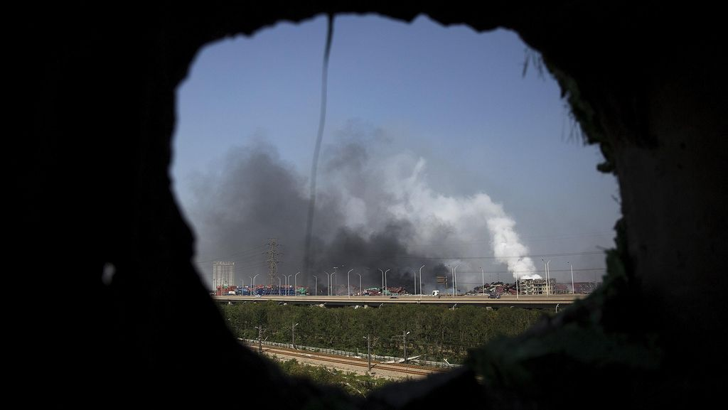 China Copot Pejabat Keselamatan Kerja Terkait Ledakan Tianjin