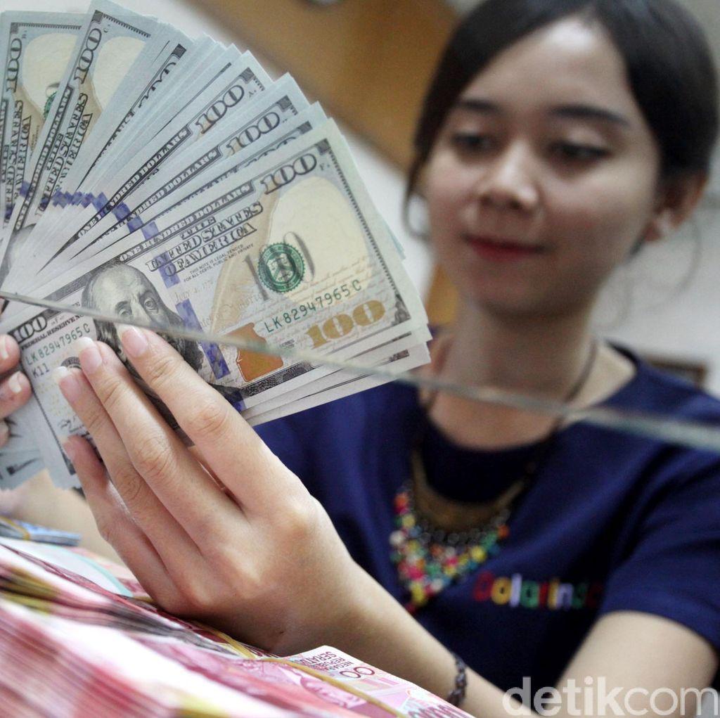 Ini Alasan Dolar AS Anjlok ke Rp 13.300