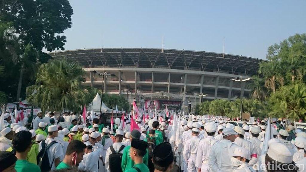Parade Tauhid Untuk HUT ke-70 RI, Tommy Soeharto Berhalangan Hadir
