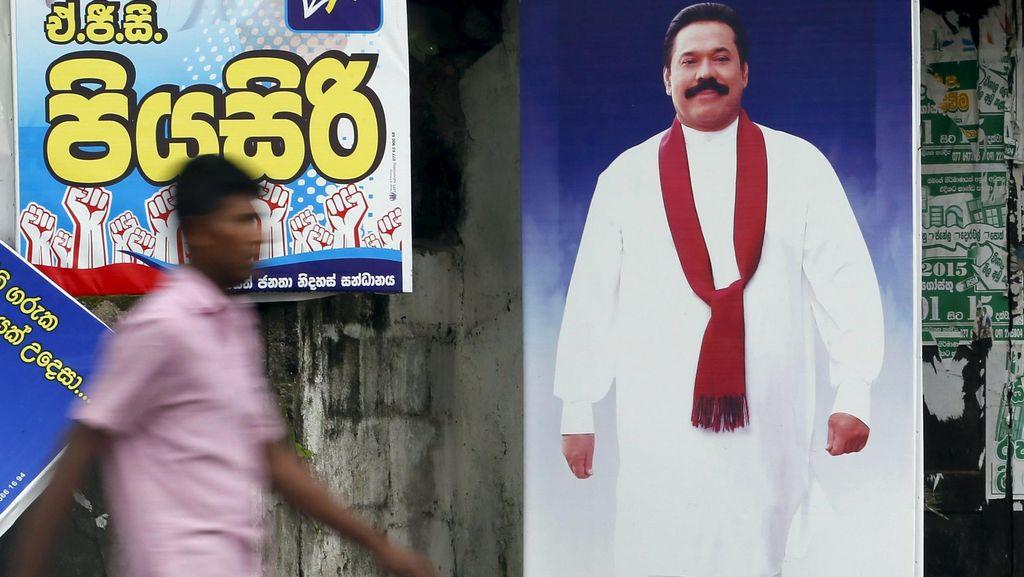 Sri Lanka Gelar Pemilu, Jadi Penanda Kembalinya Mantan Presiden Rajapaksa