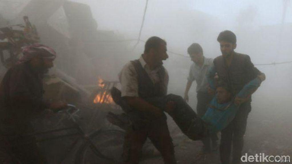 Serangan di Pasar di Suriah Tewaskan 80 Orang