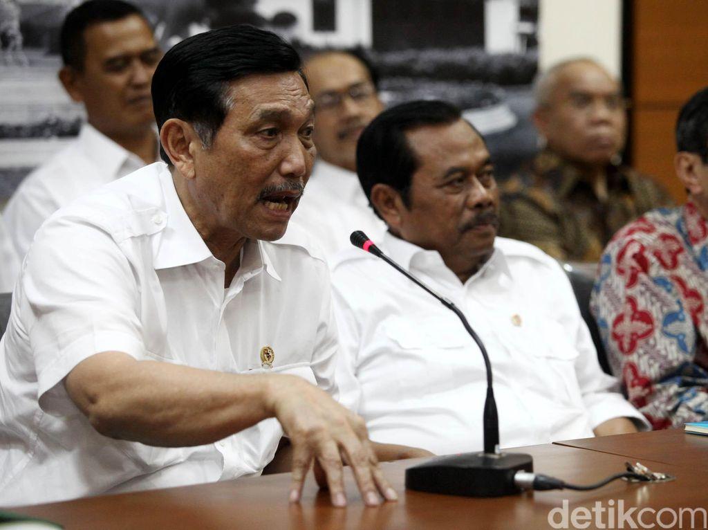 Menko Luhut: Tunggu Saja, Presiden Mau Umumkan Kepala Staf Kepresidenan