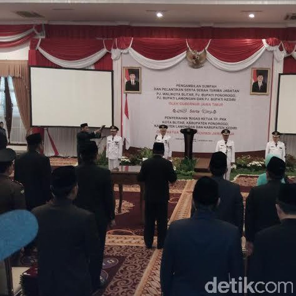 17 Kepala Daerah di Jatim Pemenang Pilkada akan Dilantik 17 Februari