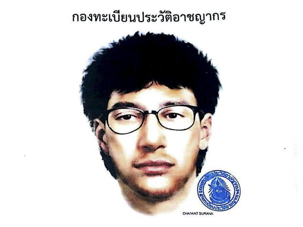 Polisi Thailand Tangkap Pria Mirip Tersangka Utama Bom Bangkok