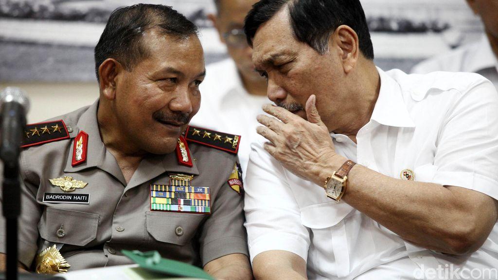 Menko Luhut Dalami Keterkaitan Kelompok Santoso dengan Pelaku Bom Bangkok