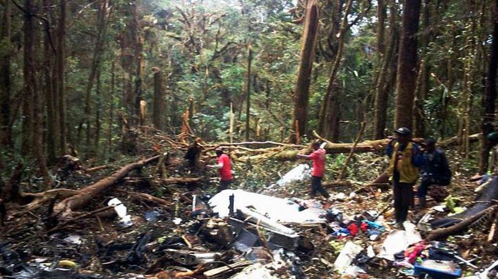 Cerita Mistis di Balik Evakuasi Jatuhnya Pesawat Trigana di Papua