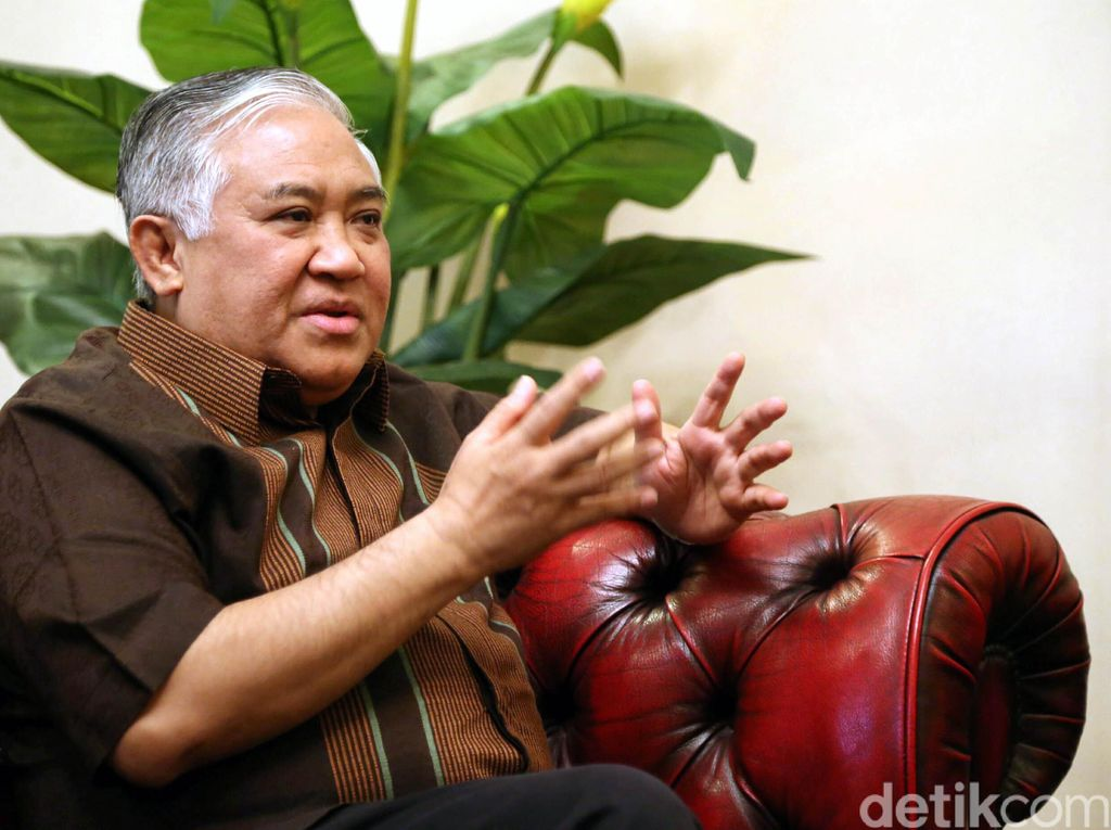 Din Syamsuddin Nilai BNPT Gagal Soal Penanggulangan Terorisme