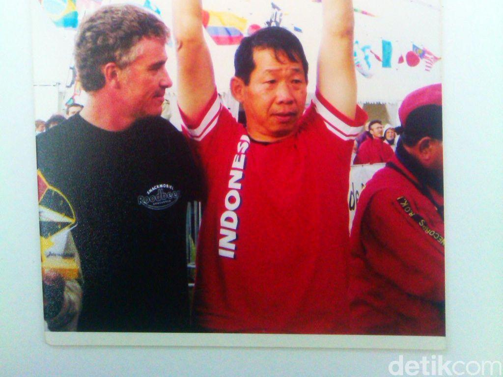 Akiat The Killer, Juara Dunia Layang-layang dari Bandung