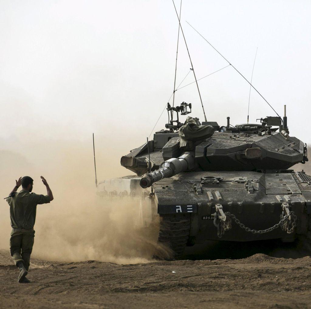 Israel Hancurkan Puluhan Rumah Warga Palestina di Tepi Barat