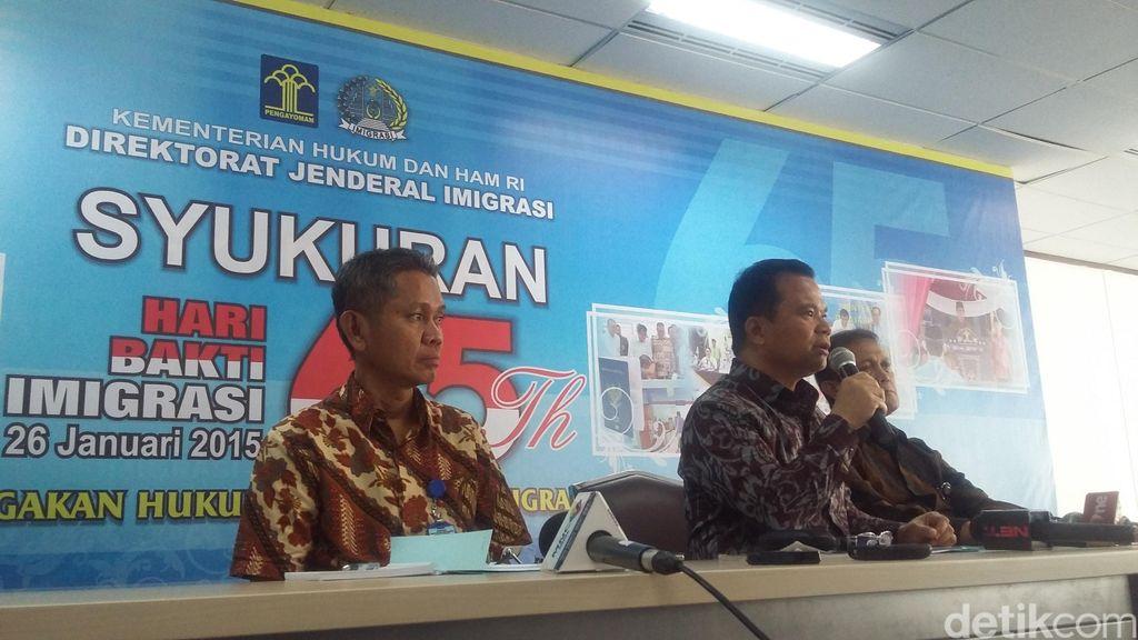 Diduga Lakukan Cyber Crime, 48 WNA Ditangkap Imigrasi di Bali