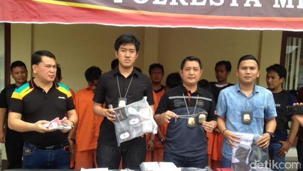 Modus Beli Barang Online, Sindikat Polisi Gadungan Dibekuk di Medan
