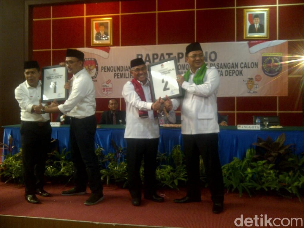 Piwalkot Depok: Dimas Gerilya, Idris Tetap Tugas Sebagai Wakil Wali Kota