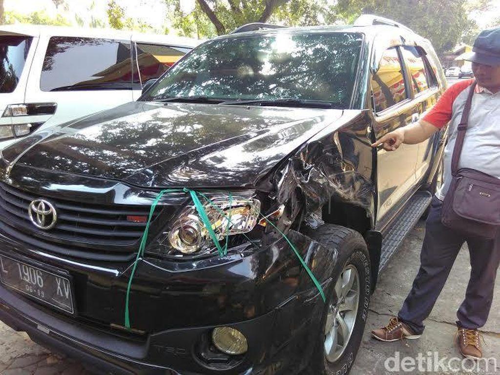 Rombongan Ketum PBNU Alami Kecelakaan di Jombang