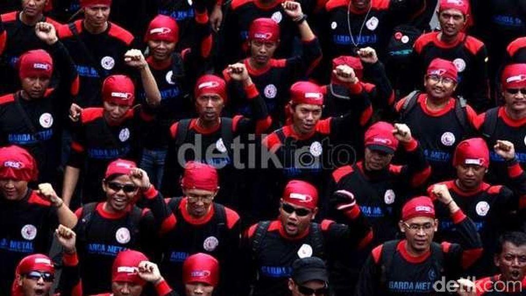 Demo Buruh 1 September, Polisi Rekayasa Arus Lalin di 6 Titik ini