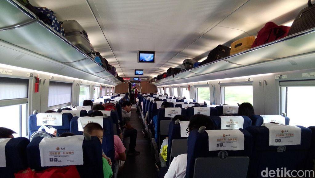 Berapa Waktu Tempuh Perjalanan Setara Jakarta-Surabaya di China?