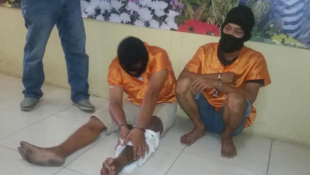 Polisi Sukses Bekuk 2 Perampok Alumni Nusakambangan yang Resahkan Nasabah Bank