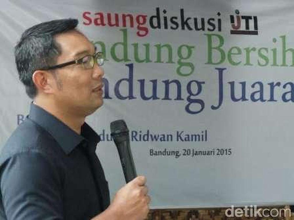 Laga Persib Vs Sriwijaya di GBK, Ridwan Kamil: Jakarta itu Indonesia