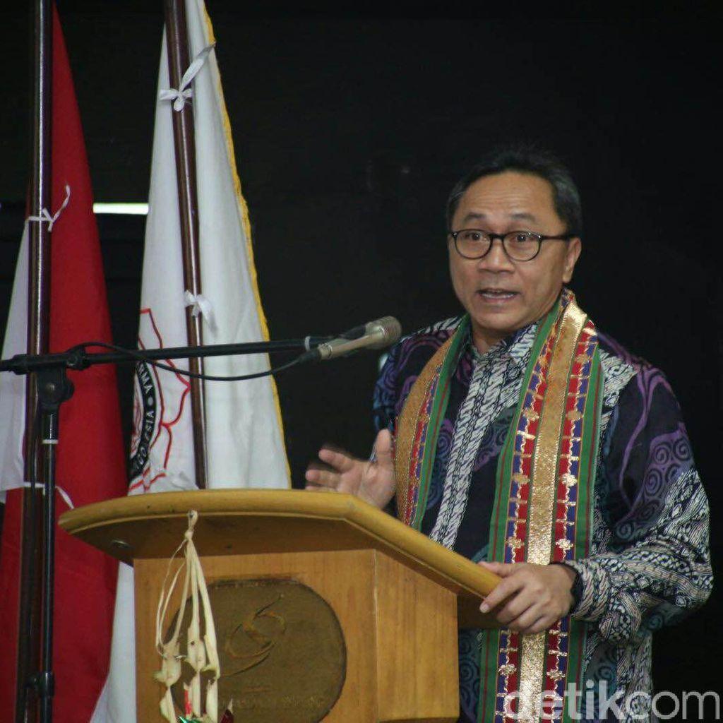 MPR Sosialisasi Empat Pilar ke Persatuan Tarbiyah Islamiyah
