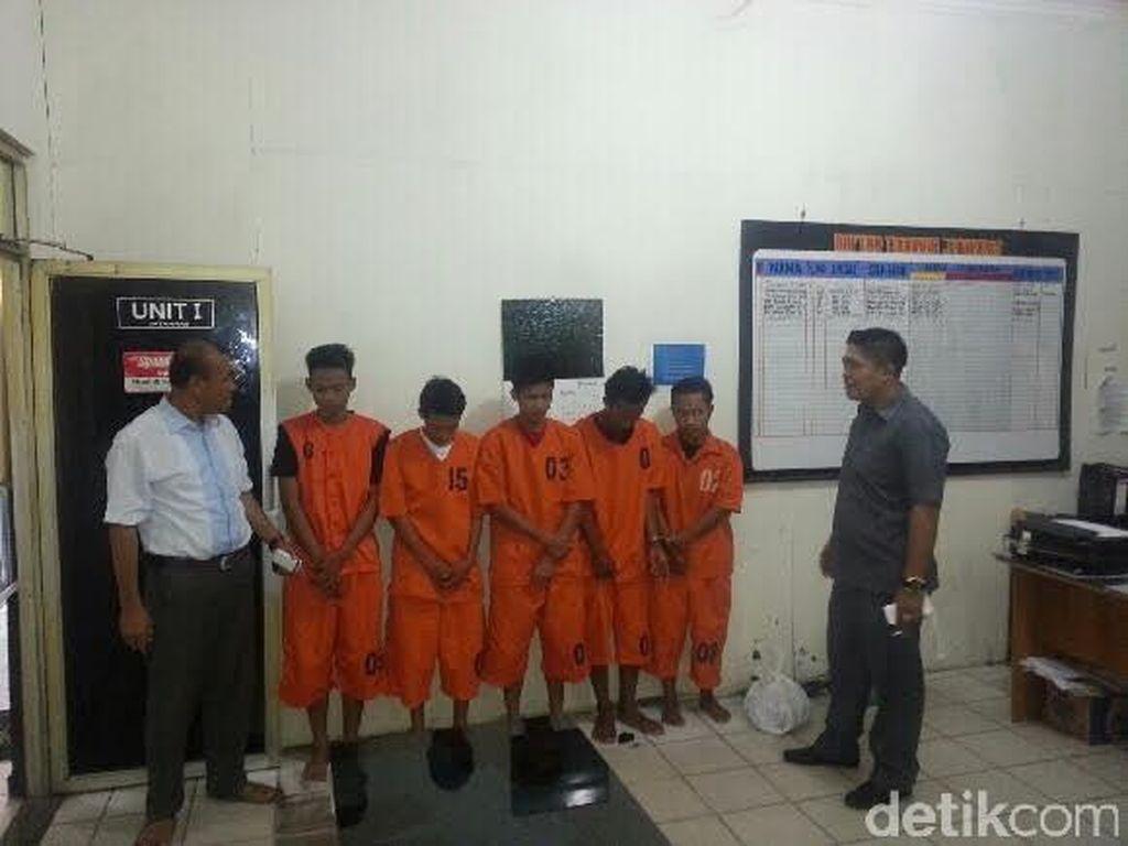 Polisi Ringkus 4 Begal Sadis di Lampung Selatan