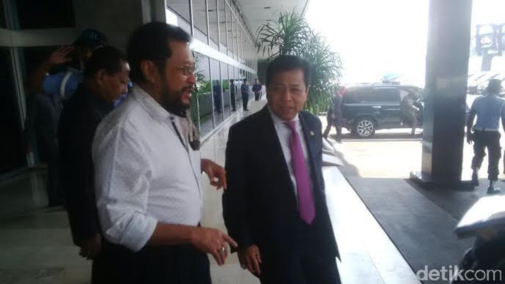Yorrys Temui Novanto di DPR, Bahas Islah Golkar dan Pilkada