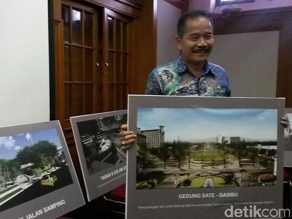 Mulai Besok Lapangan Gasibu Kota Bandung Ditutup untuk Umum