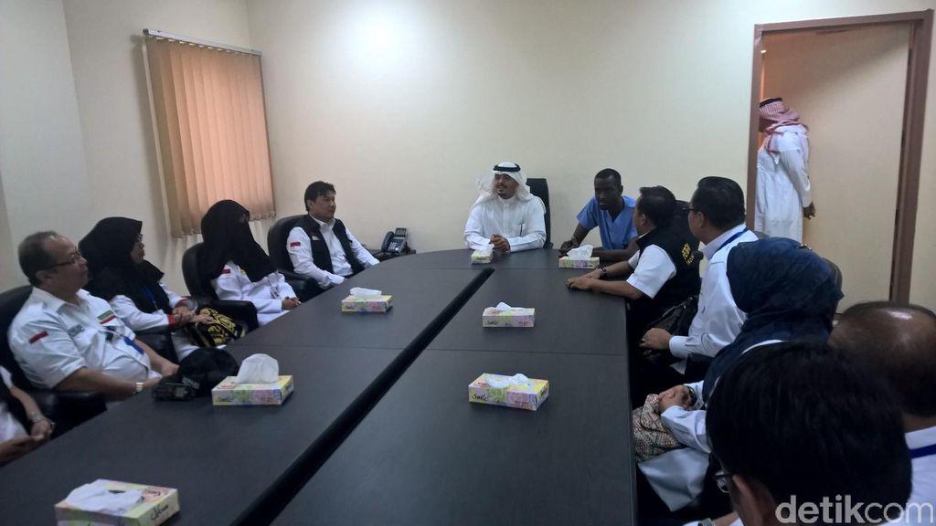 Petugas Haji Makkah Datangi RS King Faisal, Puas Fasilitas dan Kesiapannya