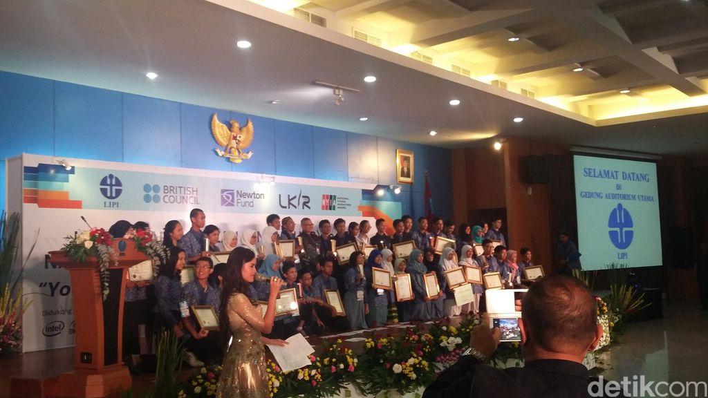 Gelar Kompetisi Ilmiah, LIPI Ingin Anak Muda Melek Iptek