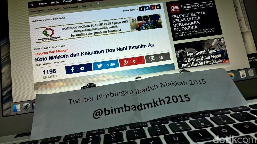 Ingin Tahu Soal Cara Berhaji, Follow Saja Akun Twitter @bimbadmkh2015